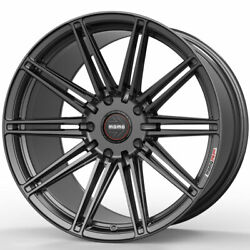 19 Momo Rf-10s Grey 19x8.5 Forged Concave Wheels Rims Fits Tesla Model S