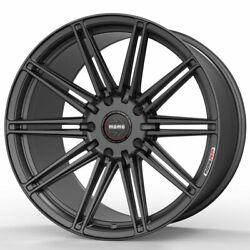 20 Momo Rf-10s Gray 20x9 20x10.5 Concave Wheels Rims Fits Ford Mustang Gt