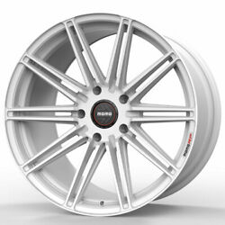 20 Momo Rf-10s White 20x9 20x10.5 Wheels Rims Fits Benz S400 S550 S63 S65