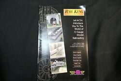 Mth Electric Trains Rail King O Gauge Model Railroading, 2000 New O/s, 31 Page