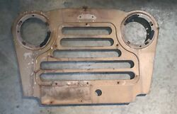 Front Grill Panel Off A 1958 Austin Gipsy —t2—