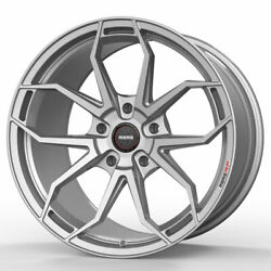 19 Momo Rf-5c Silver 19x8.5 Forged Concave Wheels Rims Fits Tesla Model S