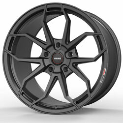19 Momo Rf-5c Gray 19x8.5 19x10 Forged Concave Wheels Rims Fits Ford Mustang Gt