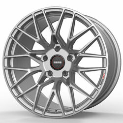 18 Momo Rf-20 Silver 18x8.5 Concave Forged Wheels Rims Fits Volkswagen Gti Mk5