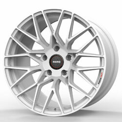 18 Momo Rf-20 White 18x8.5 Concave Forged Wheels Rims Fits Volkswagen Jetta