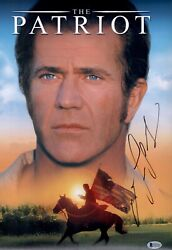 Mel Gibson Signed The Patriot 12x18 Photo In Person Autograph Bas Coa