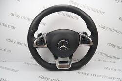 New Mercedes Benz E-class W213 S213 Amg 2016+ Mlf Shift Paddles Steering Wheel