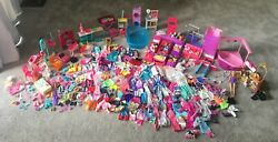 huge lot of barbie accessories Sets Clothing Shoes Beds Hot Tub Pets So Much