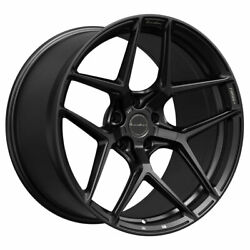 20 Brixton Forged Rf7 Black 20x10 Concave Wheels Rims Fits Ford Mustang Gt