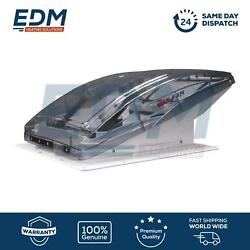 Maxxfan Deluxe Tinted Roof Rv Camper Vent Fan 356x356 With Remote Control