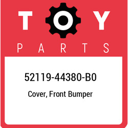 52119-44380-b0 Toyota Cover, Front Bumper 5211944380b0, New Genuine Oem Part