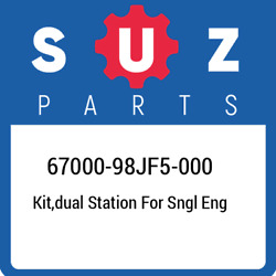 67000-98jf5-000 Suzuki Kitdual Station For Sngl Eng 6700098jf5000 New Genuine