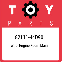 82111-44d90 Toyota Wire Engine Room Main 8211144d90 New Genuine Oem Part