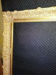 Beautiful Antique Newcomb Macklin Frame In Gold Leaf Gilded 32 X 56