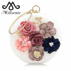 Milisente Women Evening Clutches Bags Party Female Purse Clutch Day Bag Wedding $35.09