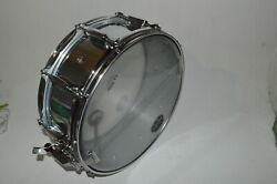 Mapex 14 Steel Snare Drum With Carry Tote Gig Bag Previously Owned