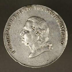 Wurttemberg 1810 Ilw Thaler Scarce Type Mount Removed