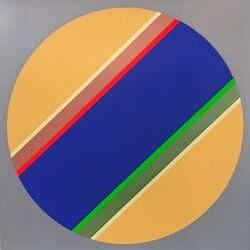 Sydney Ball Canto No Xii Signed Limited Edition Silkscreen 68cm X 68cm