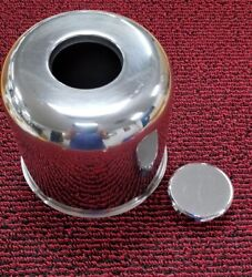 Stainless Steel Center Cap Push Through Axle Cover 4.82