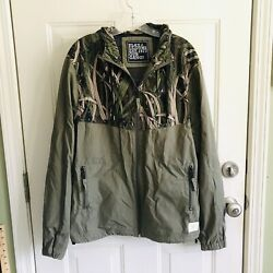 Play Cloths Est. 1977 Out Gang Jacket Mens Size L Grass Camouflage Ants Rare