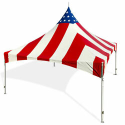 20and039 X 20and039 Patriotic High Peak Frame Tent Party Event Vinyl Waterproof Canopy
