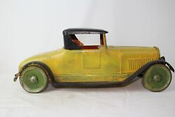 Turner Toys Large 1920and039s Packard Pressed Steel Coupe