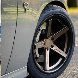 20 Vertini Rfs1.7 20x9 20x11 Concave Forged Wheels Rims Fits Dodge Challenger