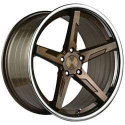 20 Vertini Rfs1.7 Bronze 20x10.5 Concave Forged Wheels Rims Fits Audi A7 S7