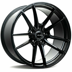 20 Velgen Vf5 Black 20x10 20x11 Forged Concave Wheels Rims Fits Ford Mustang