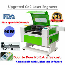 Usa 28andtimes20 80w Co2 Laser Engraver Cutter Engraving Machine Ruida Dsp Red Dot