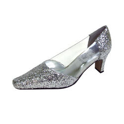 👠 Floral Asha Womenand039s Wide Width Evening Dress Shoes 👠