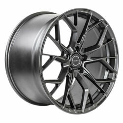 20 Brixton Forged Rf10 Grey 20x9 Concave Wheels Rims Fits Acura Tsx