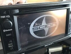 13 14 Scion FR-S Gps Navigation Radio Cd PT546-00140 has scratches for parts