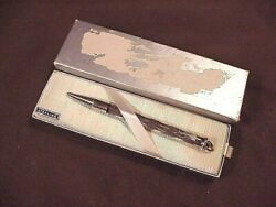 Cross Early Sterling Silver Lady's Ring Pencil, Original Box, Unused, Mint