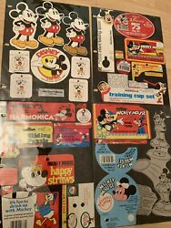 Vintage Misc Walt Disney Mickey Mouse Tags Happy Easter Donald Duck Rare Tags
