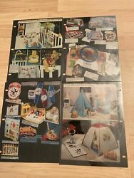 Rare Vintage Misc Disney Collectible Catalog Pages Cartoon Character Statuette