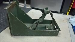 50 cal ammo can holder tray for cradle mounts m23 with bracket for mk64 mk93 30