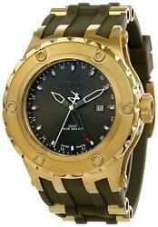 Subaqua Quartz - Gold Case W/gold Olive Green Tone Stainless Steel Band