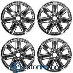 New 22 Replacement Wheels Rims For Chevrolet Tahoe 2015 2016 2017 2018 Set C...