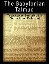 The Babylonian Talmud Tractate Berakoth, Soncino, Epstein 9789562913447 New-,