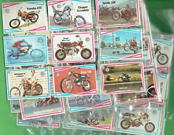 T314.  Set66 1974 Scanlens Choppers And Hot Bikes Cards