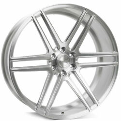 22 Velgen Vft6 Silver 22x10 Forged Concave Wheels Rims Fits Ford F-150