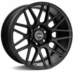 18 Velgen Vft9 Black 18x9 Forged Concave Wheels Rims Fits Ford F-150