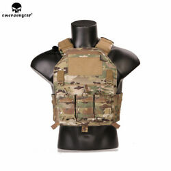 Emerson 420 Combat Vest Tactical Plate Carrier Molle Airsoft Military Paintball