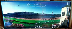 Beautiful One-of-a-kind Churchill Downs Kentucky Derby Panoramic Framed Picture