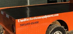 Taylor Dunn B248 Electric Industrial Flatbed Utility Cart Golf Cart