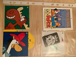 Rare Antique Vintage Misc Disney Collectible Tags Paper Plates Luggage Tags 2