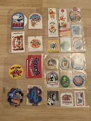 Rare Antique Vintage Misc Disney Collectible Tags Paper Plates Luggage Tags 3