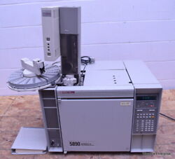 Hp Agilent 5890 Series Ii Gas Chromatograph Gc With 7673 Injector