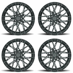 20 Xo Phoenix Grey 20x9 Forged Concave Wheels Rims Fits Acura Tsx
